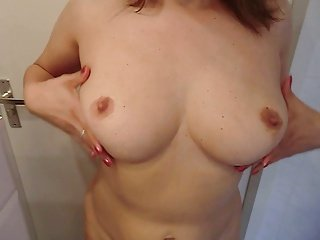 Alysha Playing with her Tits