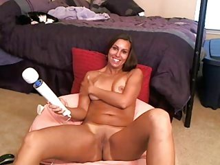 Hot lady orgasm again