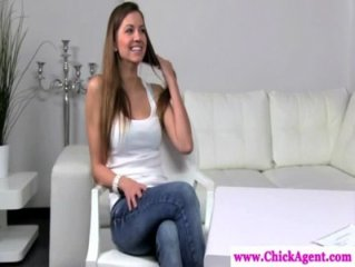 Lesbo casting director wants model naked
