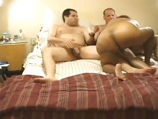 BBW Wife with Friend Before I Join In