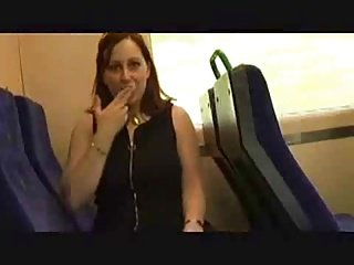 Stripping On the Train