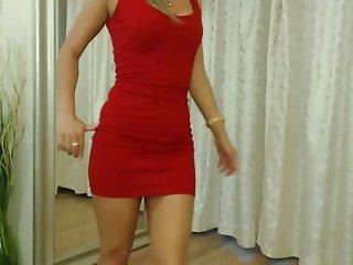 sexy legs on web cam