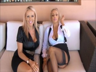 Goddess Danielle and Mistress Lucy - Heels Bigger Than Dick JOI