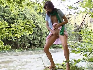 Human nature of czech girl Natasha