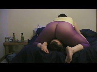 Smothergasm- PurplePantyhose