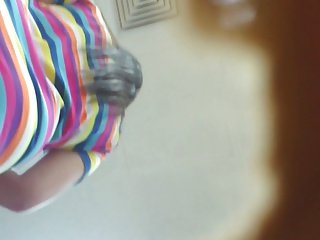 Boso Hot lady Black panty malabo nga lang yung face