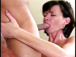Anya Lott in DP action