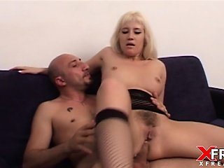 Asia Blondy in anal sex and gapes fuck by Omar Galanti