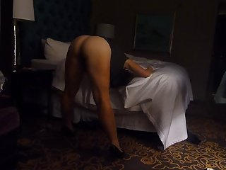 Wife Getting ready