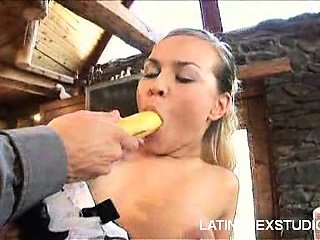 Naughty Latina Maid Fuck