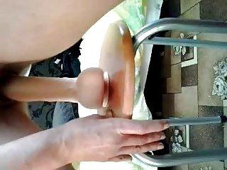 Real Home video - Hot lady Dildo Fresh wet cum