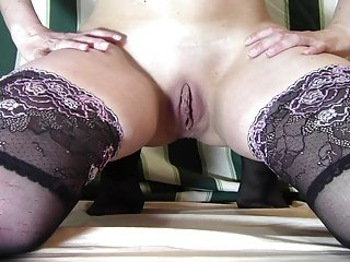 Hot lady huge insertion 2