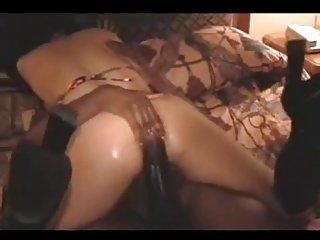 热夫人肤色肛门业余模特
