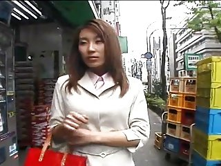 Randy Japanese girl and a day at work-by PACKMANS