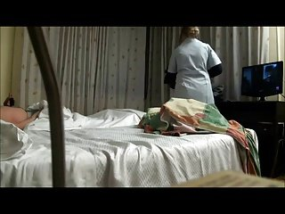 Paying and fucking the maid in hotel