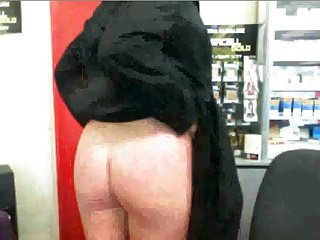 Mature Brazen Arse Spank at Work