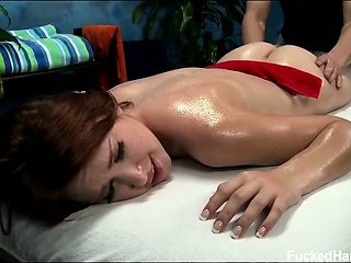Cute 18 year old Melody seduced and fuck hard after her