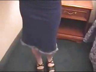 crente mostrando a calcinha rapidnho