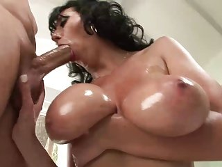 Big Chested Brunette Hot lady