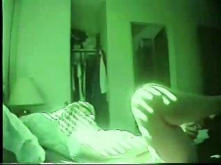 Usually my mom masturbates in the mornig. Hidden cam