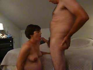Friend fucks my randy pregnant wife (part 1)