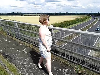 Flashing on a bridge over the A14