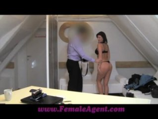 FemaleAgent Birth of a Hot lady agent