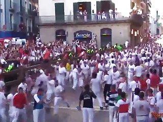 San Fermin Fuck in Pamplona