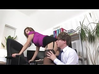 :- FEMDOMS AND THE OFFICE BOY -:  ukmike video