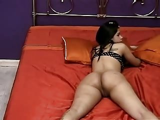 Latin showing her ass