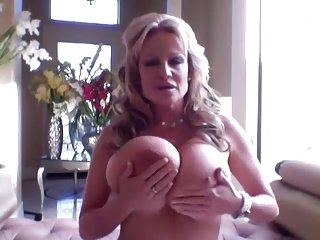 hot hot lady with huge boobs