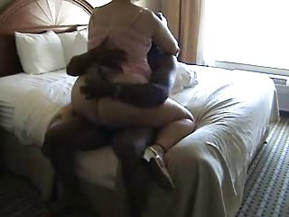 BBW Mature rides a dick on the bed