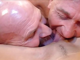 Two Dudes Licking One Pussy Together!!!
