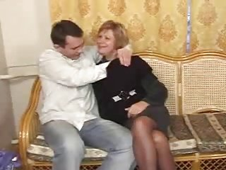 Russian mature and boy - 10