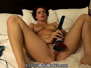 Squirting amateur Ava masturbating has real multiple orgasms