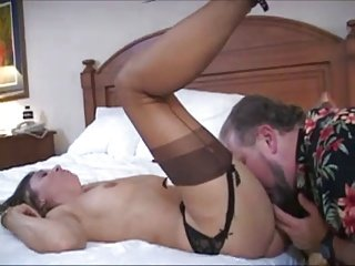 Striking white wife has a Big black dick double as hubby cleans