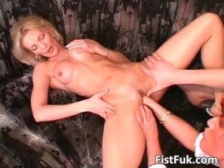 Smoking hot Hot lady blonde takes a wild