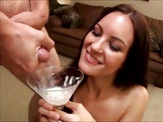 She loves to drink cum #2 (compilation)