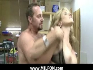 Mature babe gets Hunted and fuck hard 4
