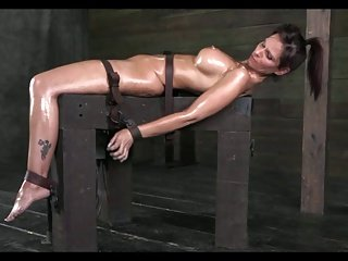 Bound Hot lady