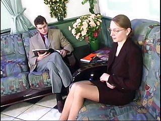 Sexy Russian Hot lady Fuck In The Waiting Room !