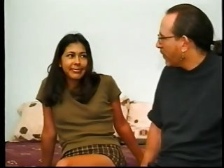 young latina casting with old ed