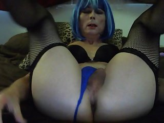 Dirty Talk Tasha Dildo Crossdresser Shemale Ass