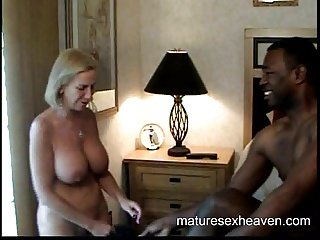 Granny And The Black Mega Dick Part 1