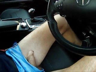 111 FREEBALLING IN SHORTS Dick OUT DRIVE BONER WALK