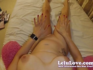 Lelu Love-Female POV Fingering Masturbation