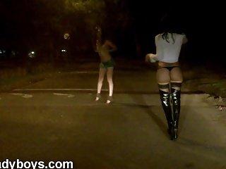 Nikki Ladyboys REAL öffentliche Nacktheit nicht inszeniert