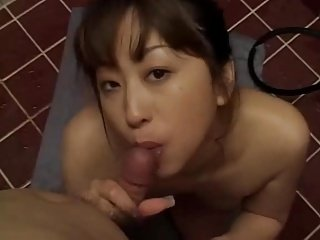 Japanese handjob blow job (uncensored)