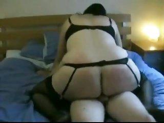 Fat Ass Chubby Ex GF riding my dick