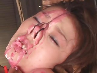 Japanese girl tortured then fuck